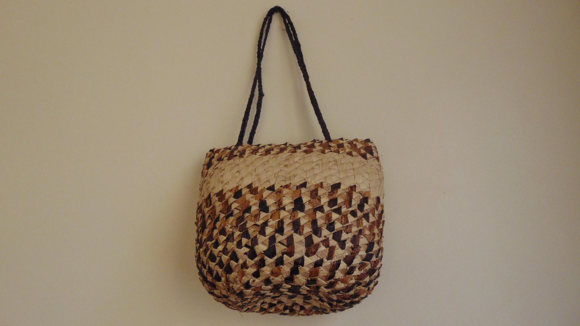 Banana fiber handbag